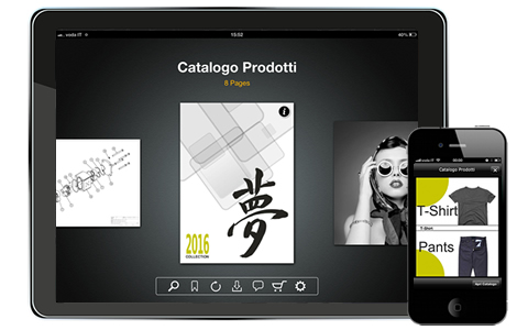Paperfly App for iPad - Insert link, You Tube Videos, cross-references to other sections of the catalog, links to pages of other catalogs, image galleries and more so to create your new interactive catalog.