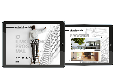 Application for architect - Refresh and publish all your portfolio works to share with clients.